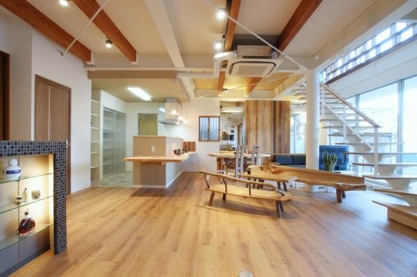 住空間建築設計ショールーム内観