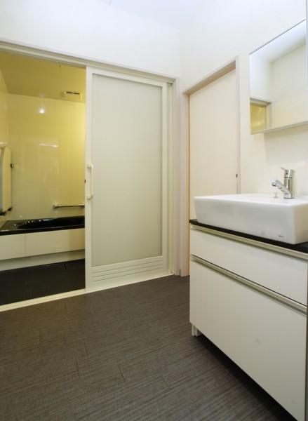 住空間建築設計ショールーム 洗面所
